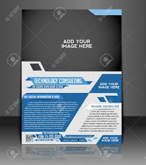 technology consulting flyer poster template design royalty technology consulting flyer poster template design stock vector 26824715