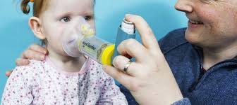 Image result for picture of a child with asthma