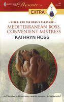 <b>Mediterranean</b> Boss, Convenient Mistress by <b>Kathryn Ross</b> - FictionDB