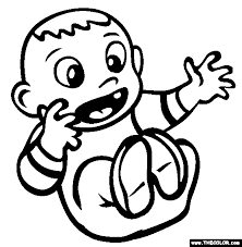 Small Picture Baby Online Coloring Pages Page 1