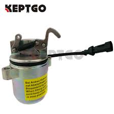 12V <b>Fuel Shut Off</b> Solenoid For Bobcat 863 864 873 883 <b>Diesel</b> ...