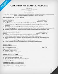 resume examples  truck driver resume examples resume templates    resume examples  cdl driver sample resume with professional experience and additional skills  truck driver