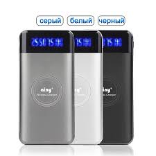 <b>Внешний аккумулятор Ainy</b> E82-001 с функцией беспроводной ...