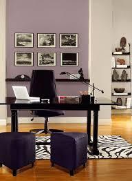gray and purple home office color scheme bm paints accent wall mauve blush 2115 af home office