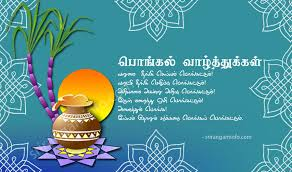 Image result for pongal greeting in tamil