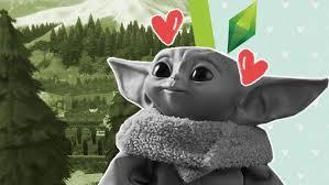 <b>Малыш Йода</b> появился в The Sims 4