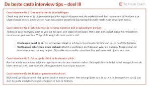 de beste case interview tips deel the inside coach case interview tip 7 doe sanity checks bij schattingen
