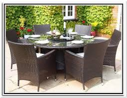 patio table and 6 chairs: round patio table and  chairs
