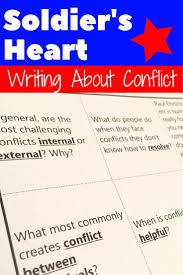 ideas about conflict in literature literature write about conflict in ier s heart add depth connection and writing practice to