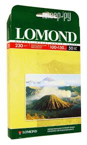 <b>Фотобумага Lomond</b> 100x150mm <b>230g m2</b> глянцевая ...
