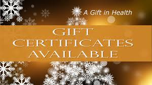 holiday gift certificates available natures healing holiday gift certificates available 2016