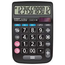 <b>Staff Калькулятор</b> Plus настольный DC-999S-12 - Акушерство.Ru
