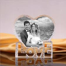 China <b>3D Laser Engraved</b> Personalized Photo Crystal Frame ...