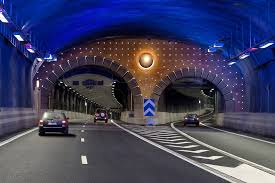 Image result for The longest tunnel with road in the world: 17kms./ Switzerland