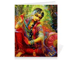 Тетрадь на скрепке Радха и <b>Кришна</b> #2377855 от shakti4om ...