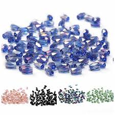 Bright Purple AB <b>4mm 100pc Austria</b> Crystal Bicone Beads 5301 ...
