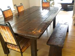 Rustic Dining Room Table Plans Rustic Dining Room Table Plans High Dining Table