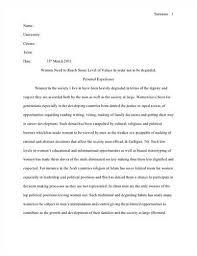 below is a sample of an essay in mla format formatting an essay in mla style