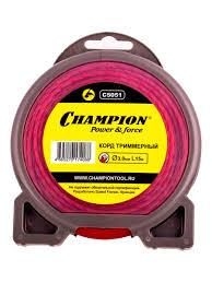 Корд трим.<b>CHAMPION</b> Spiral Pro <b>3.0мм</b> *15м (витой) <b>CHAMPION</b> ...