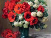 260 <b>Flowers</b> & <b>Birds</b> Paintings ideas | رسم, فن, نبات الخطمي