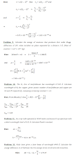numerical problems based on atomic physics physics assignment numerical problems based on atomic physics