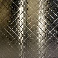 Stainless Steel Diamond Quilted Pattern - Stainless Supply