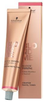 Schwarzkopf Professional Blondme <b>тонирующий крем для</b> волос ...
