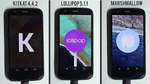 Marshmallow 6.0 vs Lollipop 5.1.1 vs Kitkat 4.4.2 Performance ...