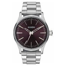 nixon men s the 38 20 leather strap watch 38mm istylewatches nixon men s the sentry bracelet watch 38mm