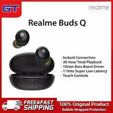 <b>Realme</b> Buds Q <b>RMA215</b> Tws Earbuds Wireless <b>Bluetooth</b> ...