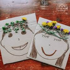 <b>Double</b>-<b>Sided Nature</b> Crown Board • Little Pine Learners