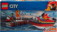 <b>Конструктор LEGO City Fire</b> Пожар в порту 60213 – купить в сети ...
