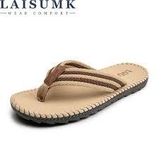 2019 <b>LAISUMK</b> Summer <b>Sandals Men</b> Outdoor Breathable Slippers ...