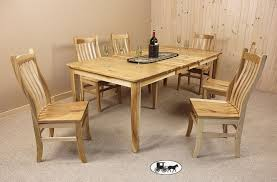 real rustic kitchen table long: dining set webbwrhickextensionset dining set