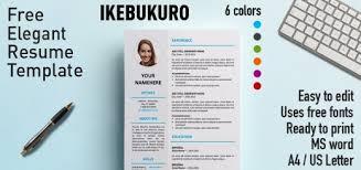 free formal resume templates   rezumeetikebukuro elegant resume template