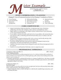 cover letter examples event coordinator mosaic a planning and event coordinator resume sample