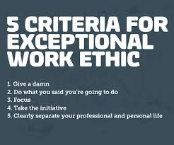 5 Criteria for Exceptional Work Ethic- By Blue Collar Agency ... 5 Criteria for Exceptional Work Ethic- By Blue Collar Agency | Blog | Pinterest | Work Ethic, Collars and Other