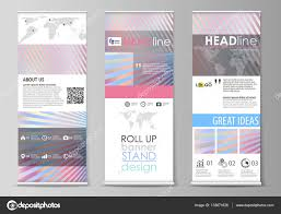 roll up banner stands abstract geometric style templates roll up banner stands abstract geometric style templates corporate vertical vector flyers flag