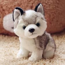 "<b>New Arrival Cute</b> Mini 7"" Plush Soft Stuffed Animal Husky Dog Baby ..."