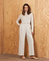 Pleated front trousers — <b>12Storeez</b>
