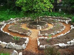 Small Picture This would be a really cool way to plant a vegetable garden You