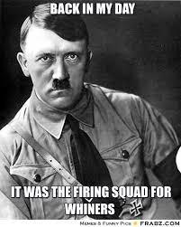 Back in my day... - hitler Meme Generator Captionator via Relatably.com