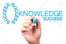drawing knowledge and success key concept on transparent white drawing knowledge and success key concept on transparent white board blue marker stock photo