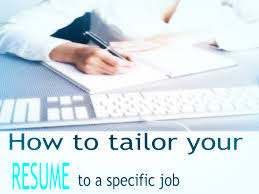 what to do after getting laid off when you are over business how to tailor your resume to a specific job