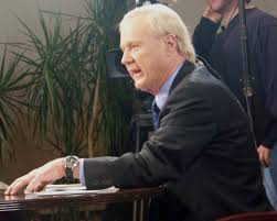 used both hardball by chris matthews and the prince by niccolo chris matthews during an edition of hardball in manchester nh