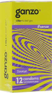 """<b>Ganzo Презервативы</b> """"Sense"""", ультратонкие, 12 шт — купить в ..."""