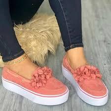 <b>Dihope Women</b> Flats <b>Shoes</b> Platform <b>Sneakers</b> Slip On <b>Ladies</b> ...