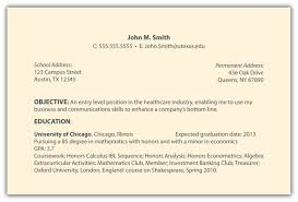 objective section of resume examples resume examples  objective section of resume examples this is a collection of five images that we have the best resume and we share through this website