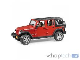 <b>Внедорожник Bruder Jeep</b> Wrangler Unlimited Rubicon (02-525) 1 ...