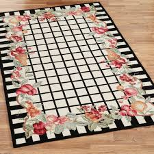 Machine Washable Kitchen Rugs Decorating Modern Rectangle Shaped Long Kitchen Rugs In Gray Tone